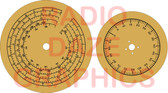 Hallicrafters S22R Dial Set (Item: DS-A698)
