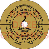 Emerson 110 Dial (Item: DS-A712)