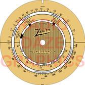 Zenith S-871 Dial (Item: DS-A717)