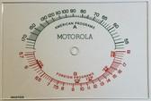 Motorola Model 5Y Dial Glass (Item: DG-377)