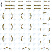 Fada Model 366C Decal Set (Item: DCL-FD-366C)