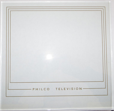 Glass image against light gray background - glass is clear other than printing