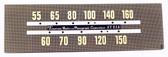 Emerson Model 516A Dial Glass (Item: DG-437)