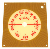 Fada Model 711 Dial (Item: DS-A769)