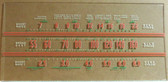 General Electric J-71 Dial Glass (Item: DG-488)