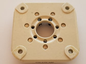 Ceramic 7 Pin Socket-E.F. Johnson Part #122-237-100 (Item: NOS-SKT-43)