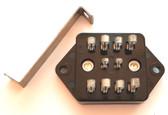 Omron Type PP10 10 Pin Relay Socket - Original Box (Item: NOS-SKT-28)