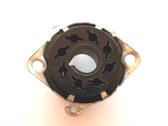 8 Pin Octal Under Chassis Mount Style Bakelite Socket (Item: NOS-SKT-34)
