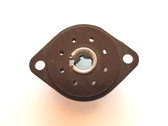 """8 Pin """"Loktal"""" Wafer Phenolic Socket (Item: NOS-SKT-24)"""