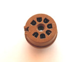 7 Pin Miniature Printed Circuit Socket - Brown (Item: NOS-SKT-23)