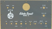 World Radio Labs Globe Scout Model 65 Faceplate (Item: FP-WRL-65)