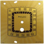 Philco Model 39-70 Dial (Item: DS-A820)