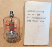 Pair of Eimac 4-65A New Old Stock Vacuum Tubes