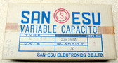 4 Section AM/FM Transistor Style Variable Capacitors-New Old Stock-Box of 50