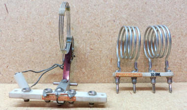 Type 3266 steatite jack bar & swinging link and 10BVL inductor