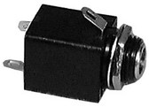Phone Jack - 3 Conductor - 1/4 Inch (Item: PHEJK-3C-ISO)