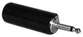 Phone Plug - 2 Conductor - 2.5mm (Item: PP2.5-2C-BLK)