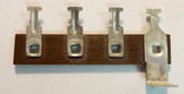 New Old Stock Terminal Strip - 4 Lugs (Item: NOS-TS4-F)