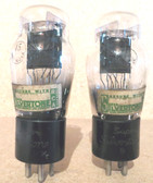 Pair of Silvertone Type 45 Vacuum Tubes-Tested (Item: RDW-85)