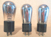 RCA Radiotron UX-201A Vacuum Tubes-Tested-Set of 3 (Item: RDW-81)