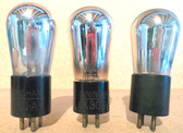Cunningham UX-301A Vacuum Tubes-Tested-Set of 3 (Item: RDW-83)