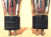 Globe Type 80 Vacuum Tubes - Quantity 2 Used (Item: RDW-88)