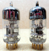 Matched Pair of Siemens-Rohre EC8010/8556 Vacuum Tubes - New Old Stock In Box (Item: RDW-90)