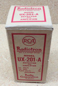 RCA Radiotron UX-201A Vacuum Tube - New Old Stock In Box (Item: RDW-105)