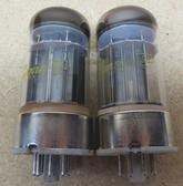Pair of Sylvania 6080 Vacuum Tubes - Closely Matched - Same Production Code (Item RDW-106)