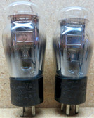 Pair of National Union 01AA Vacuum Tubes - Used - Fully Tested (Item: RDW-109)