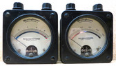 Two Vintage Westinghouse Type PX Direct Current Ammeters - Used (Item: RDW-113)