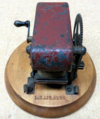 Antique Minature Hand Crank Generator-Used (Item: RDW-115)