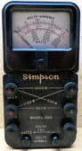 Simpson 390 Volt-Amp-Wattmeter - Used (Item: RDW-127)
