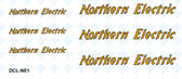 Northern Electric Logo Decal Set (Item: DCL-NE1)