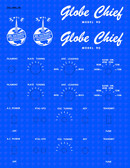 WRL Globe Scout Model 90 Decal Set (Item: DCL-WRL-90)