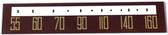 Emerson Model 702B Dial Glass (Item: DG-509)