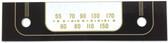 Tele-Tone Model 111 Dial Glass (Item: DG-523)