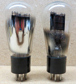 Pair of RCA Radiotron 247 Globe Vacuum Tubes - Used - Fully Tested (Item: RDW-133)