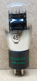 NOS Sylvania 45 ST Style Vacuum Tube - Fully Tested (Item: RDW-136)