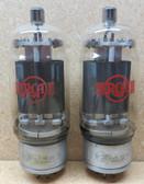 Pair of  RCA Red Logo 813 Vacuum Tubes - Used (Item: RDW-141)