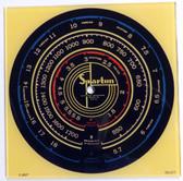 Sparton 617 Dial (Item: DG-217)