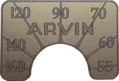 Arvin 444 Dial (Item: DS-A014)