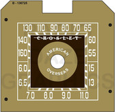 Crosley 56TA,56TC,56TN Dial (Item: DS-A026G)