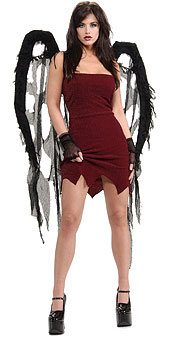black gauze wings