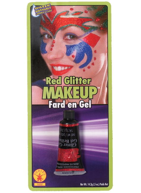 Red Glitter Gel Professional Quality Makeup