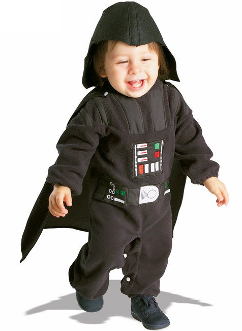 Infant  Darth Vader Star Wars Halloween Costume