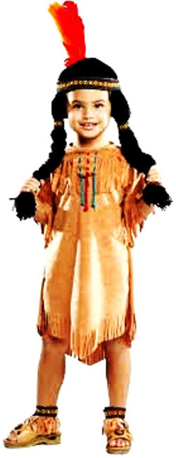 Cute Pocahontas Child  Costume