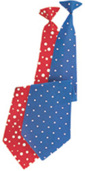 Nylon Clown Long Tie