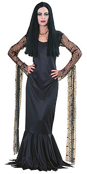 Morticia Addams Family Dress Adult Costume