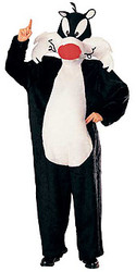 Sylvester Mascot Costume, Adult Looney Tunes - Halloween Costume 2010